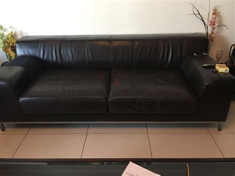 ikea leather sofa sale dubizzle dubai sofas futons lounges 3 seater ikea