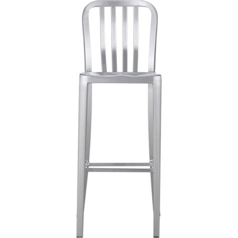 Aluminum Bar Stools Crate And Barrel by Delta Aluminum Bar Stool In Bar Stools Crate And Barrel