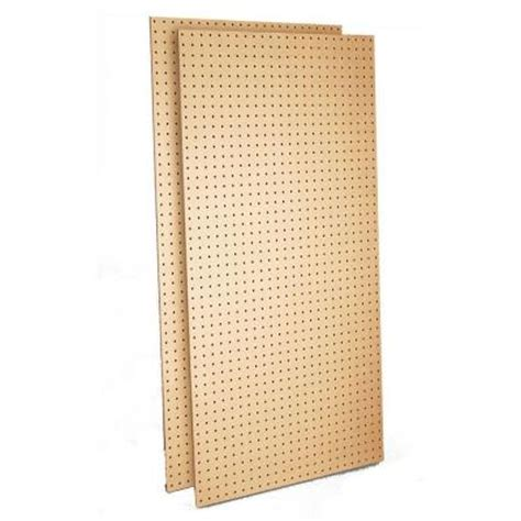 triton products tempered wood commercial grade pegboard
