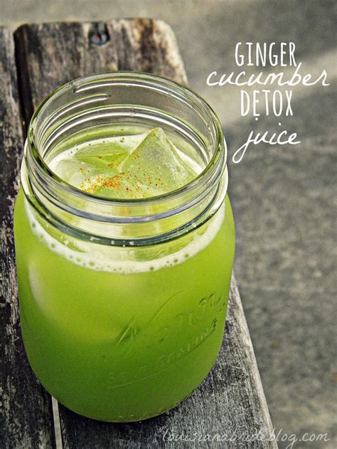 Cucumber Detox Diet by Cucumber Detox Juice 2 Cucumbers 2 Inches