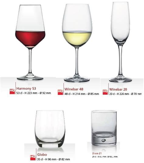 bicchieri ristorante set bicchieri ristorante pz 432