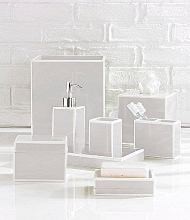 dillards bathroom accessories southern living soho silver bath accessories dillards