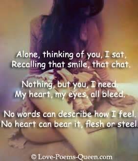 Break up sad love poems quotes