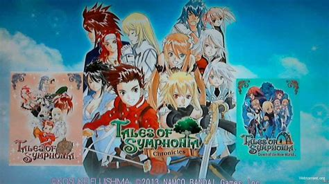 tales of symphonia chronicles ps3 tales of symphonia chronicles ps3 cobra ode 187 скачать игры