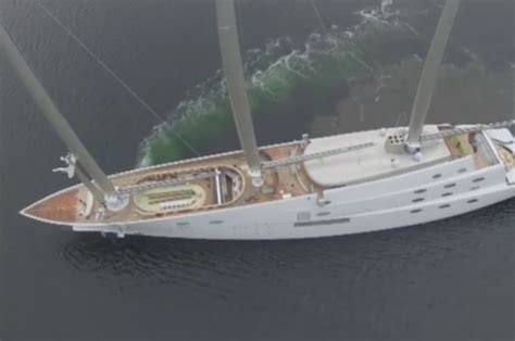 biggest tourist boat in the world sailing yacht a the biggest mega yacht in the world