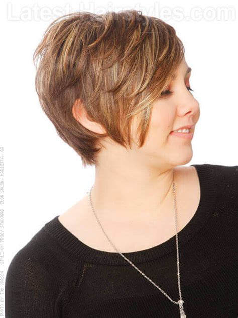 very short layered light brown hairstyles light brown short haircut with layers