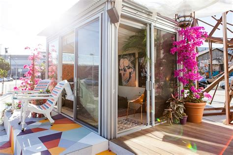 tiny house bnb tiny moroccan themed airbnb home pops up in the heart of downtown l a inhabitat green
