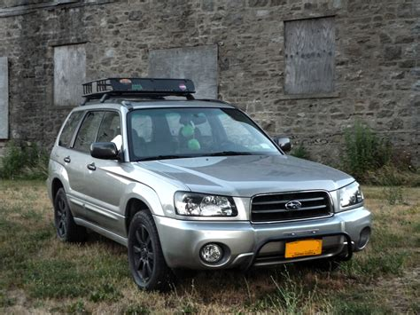 2005 Gray Metallic Subaru Forester Xs With Rally