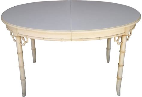 faux bamboo table legs dining table with faux bamboo legs fretwork corners and