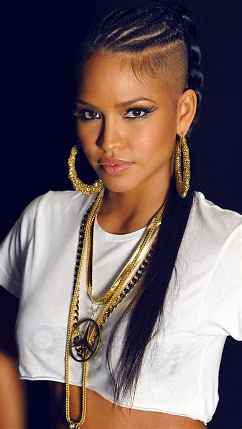 long cornrow hairstyles with shaved sides strayhair hairstyle inspiration page 6