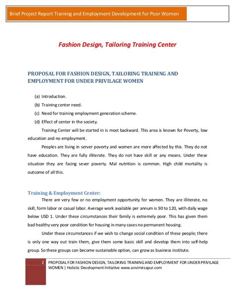 design brief in fashion fashion designing