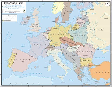 world war 1 map printable