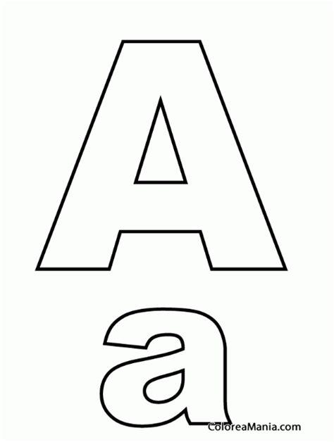 de la letra a actividades para imprimir la letra a para colorear abecedario para imprimir letra