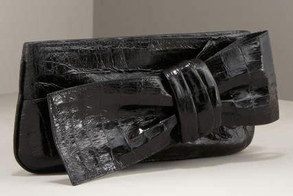 Shopping Nancy Gonzalez Bow Croc Clutch by My Fashion