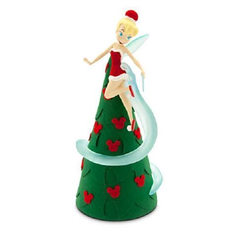 tinkerbell disney christmas tree topper light up retro