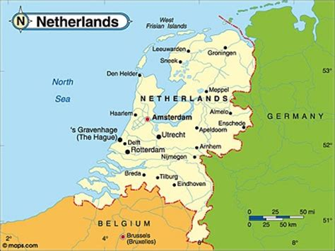 netherlands map major cities the defining characteristics of the buurtzorg nederland