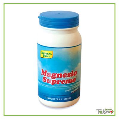 magnesio supremo ingredienti magnesio supremo point 150 g tekno salute