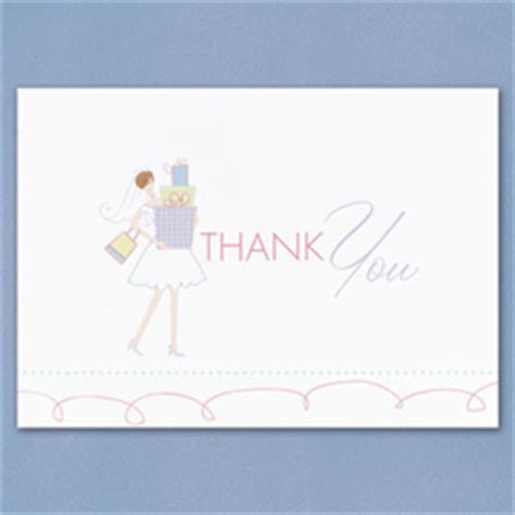 wedding shower thank you note for gift card wedding thank you cards wedding thank you note