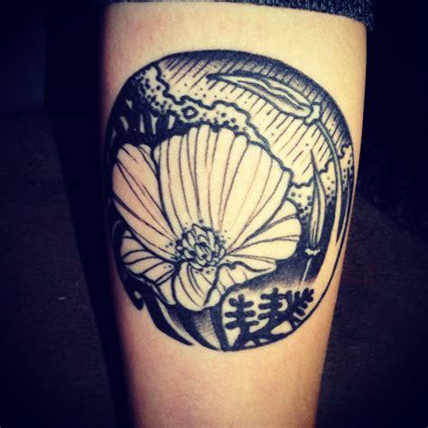 california poppy tattoo california poppy crafts california