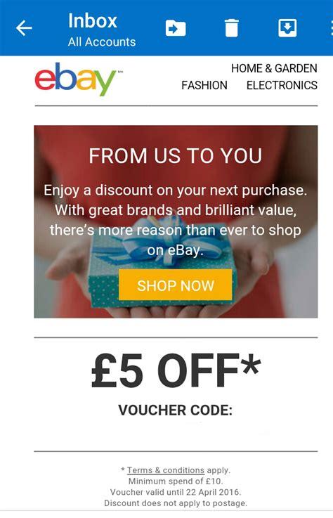 ebay voucher code uk ebay discount code get 163 50 off july 2017 hotukdeals