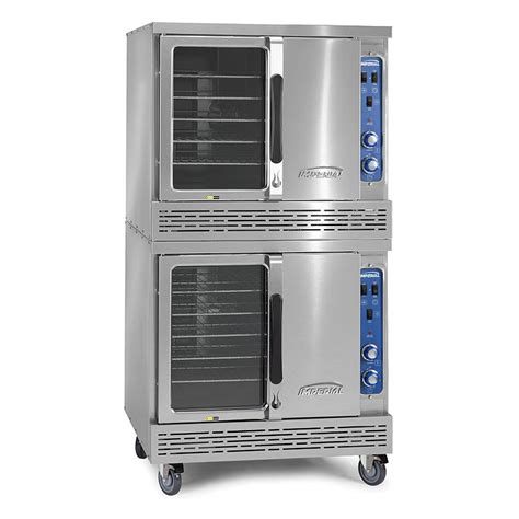 Imperial Icve 2 Double Full Size Electric Convection Oven