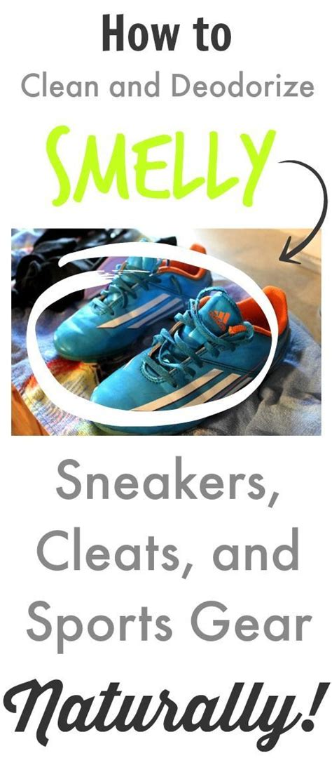 how to clean a stinky how to clean and deodorize smelly sneakers cleats and