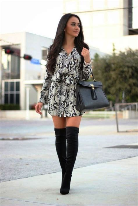 55 ideas of to wear with knee high boots instaloverz