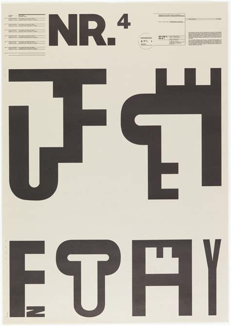 Dan Typo Cooper design is wolfgang weingart poster nr 4