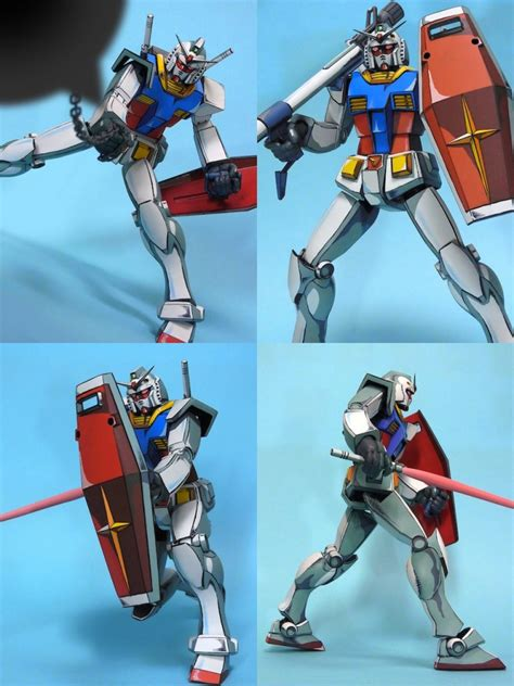 Hanger Anime Gundam Rx78 reposted kit 1 100 rx 78 2 gundam remodeled and painted in anime style photoreview