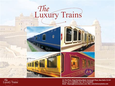 luxury trains of india the luxury trains of india ppt
