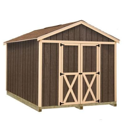Storage Shed At Home Depot by Best Barns Danbury 8 Ft X 12 Ft Wood Storage Shed Kit