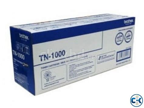 Toner Tn 1000 tn 1000 genuine toner clickbd