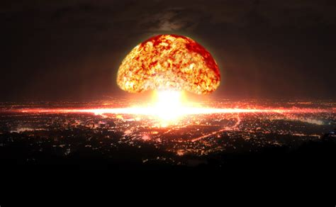 Bombed But Still A Day In The Sun by World War 3 Scientists To Simulate Nuclear Bomb Going
