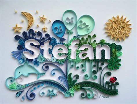 paper quilling names tutorial quilled name stefan quilling moon quilling sun quilling