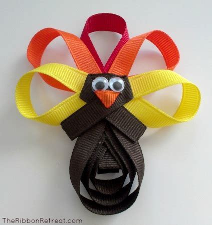 ribbon sculpture instructions 5 more thanksgiving jewelry tutorials