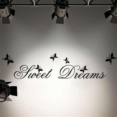 sweet dreams wall stickers sweet dreams quote wall sticker free shipping worldwide
