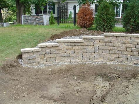 Retaining Wall Installation Wall Projects 3 Photos 187 Retaining Wall Installation
