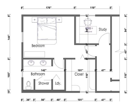 Floor Plans Master Suite by Master Bedroom Suite Design Floor Plans Bedroom Floor Plan