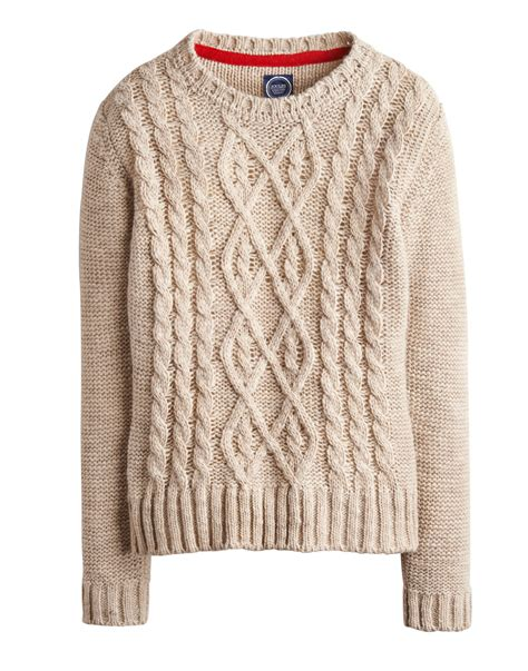 knit jumper keep warm this winter with a cable knit jumper