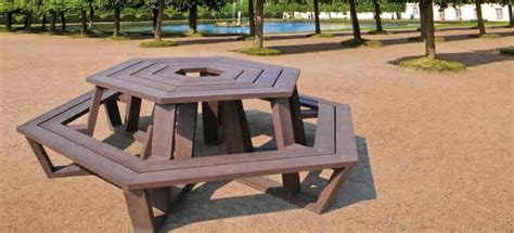 Eco Design Roma by Kunststof Picknicktafel Roma Smit Ecodesign