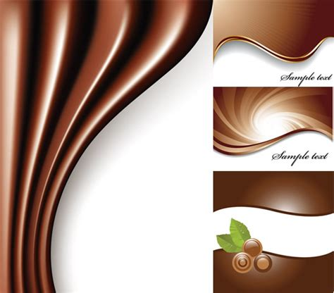 chocolate templates for powerpoint free download chocolate coffee color background vector graphic over