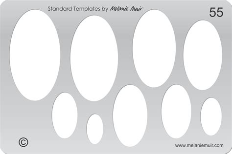 polymer template new no 55 clear acrylic template stencil for polymer metal