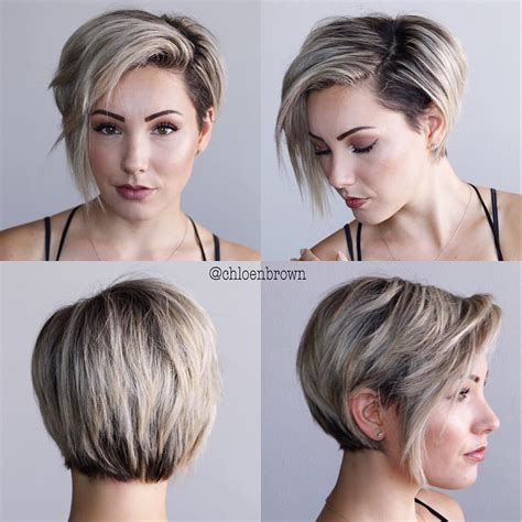 short bob hairstyles 360 degrees 2 085 likes 50 comments chlo 233 brown chloenbrown on