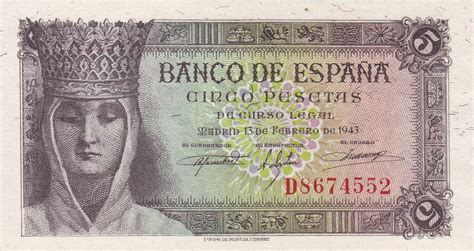 notes on spain and the spaniards in the summer of 1859 with a glance at sardinia classic reprint books spain 5 pesetas banknote 1943 i of spain