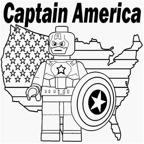 coloring pages lego captain america printable lego marvel superheroes captain america coloring