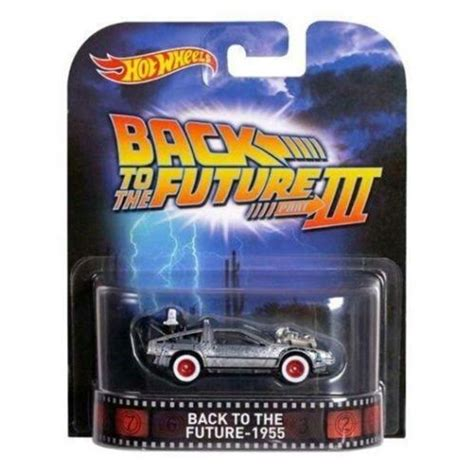 Hotwheels 1 64 Retro Back To The Future Time Machine Hover Mode 1 wheels back to the future 1955 retro entertainment