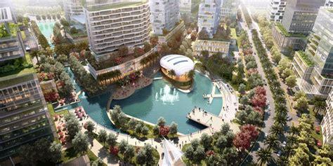 urban design di indonesia bsd grand cbd masterplan and urban design guidelines aecom