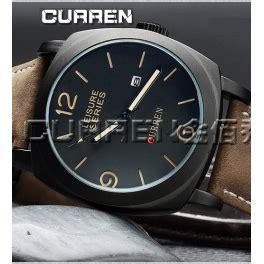 Jam Tangan Pria Original Anti Air Curren 8110 Black jual jam tangan pria leisure series