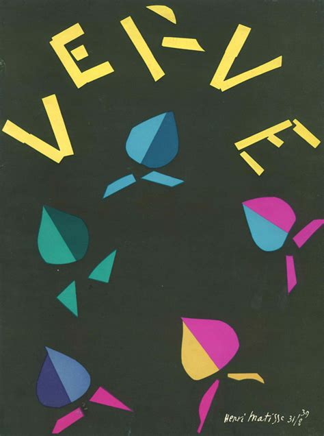 Arte Black Verve no 2978 matisse s verve