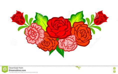 imagenes de flores mexicanas decoraci 243 n con las flores mexicanas ilustraci 243 n del vector